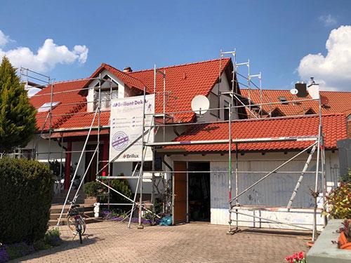 Dachbeschichtung Beispielbild - Dach Rot